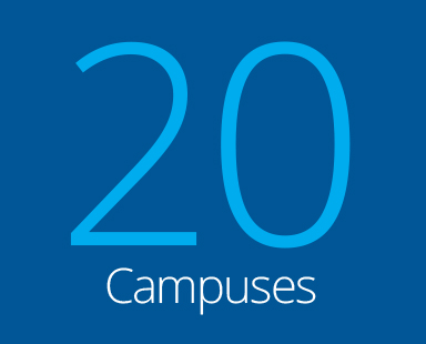 20 campuses